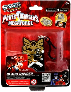 Power Rangers Megaforce Swappz Black Ranger & Coin