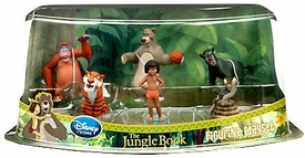 Disney The Jungle Book Exclusive 6-Piece PVC Figure Play Set [Mowgli, Baloo, Bagheera, King Louie, Shere Khan & Kaa]