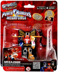 Power Rangers Megaforce Swappz Megazord & Coin