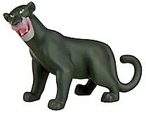 Disney The Jungle Book Exclusive LOOSE Mini PVC Figure Bagheera