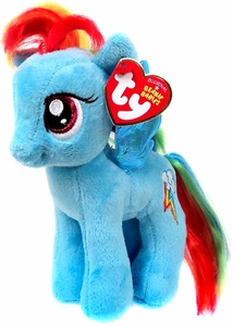 My Little Pony Ty Beanie Baby Rainbow Dash