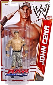 Mattel WWE Wrestling Basic Series 18 Action Figure #35 John Cena