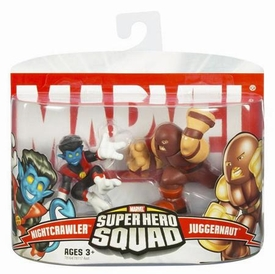 Marvel Superhero Squad Series 4 Mini 3 Inch Figure 2-Pack Nightcrawler & Juggernaut