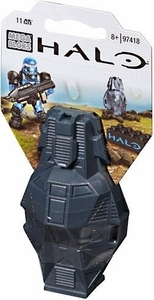 Halo Wars Mega Bloks Set #97418 Metallic ODST Drop Pod [Blue UNSC Soldier]