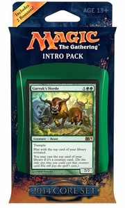 Magic the Gathering M14 2014 Intro Deck Bestial Strength