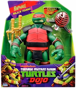 Nickelodeon Teenage Mutant Ninja Turtles 11 Inch Dojo Figure Raphael [Ninja in Training]