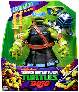 Nickelodeon Teenage Mutant Ninja Turtles 11 Inch Dojo Figure Leonardo [Ninja in Training]