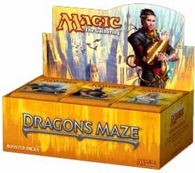 Magic the Gathering Dragon's Maze Booster BOX [36 Packs] (Spanish)