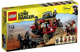 LEGO Lone Ranger Set #79108 Stagecoach Escape