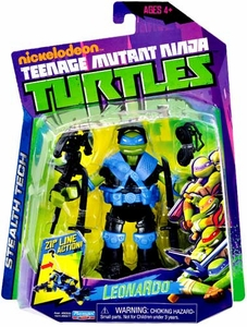 Nickelodeon Teenage Mutant Ninja Turtles Basic Action Figure Stealth Tech Leonardo