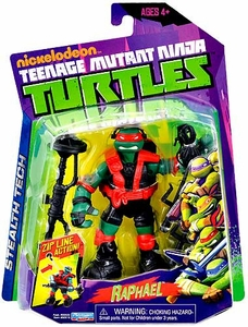 Nickelodeon Teenage Mutant Ninja Turtles Basic Action Figure Stealth Tech Raphael [with Zip Line]
