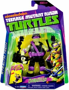 Nickelodeon Teenage Mutant Ninja Turtles Basic Action Figure Stealth Tech Donatello