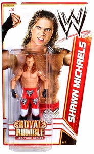 Mattel WWE Wrestling Royal Rumble Heritage PPV Basic Series 14 Action Figure #8 Shawn Michaels [Royal Rumble 1995]