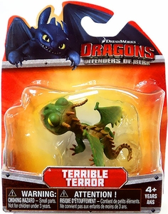 Dragons Defenders of Berk 3 Inch Mini Figure Terrible Terror