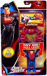 Man of Steel Movie Quick Shots Attack Armor Superman