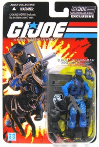Hasbro GI Joe 2013 Subscription Exclusive Action Figure Wide Scope  [SWAT K9 Handler]