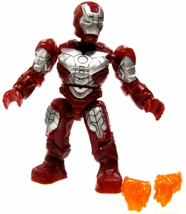 Marvel Mega Bloks LOOSE Series 2 Mini Figure Common Mk. V Iron Man