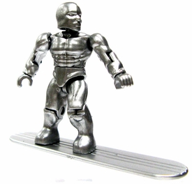 Marvel Mega Bloks LOOSE Series 3 Mini Figure Ultra Rare Silver Surfer