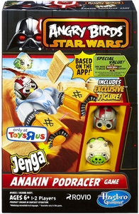 Angry Birds Star Wars Exclusive Jenga  Anakin Podracer Game BLOWOUT SALE!