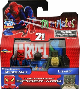 Marvel Minimates Amazing Spider-Man Movie Series 46 Battle Damaged Spider-Man & Lizard