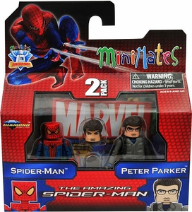 Marvel Minimates Amazing Spider-Man Movie Series 46 Spider-Man & Peter Parker