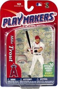 McFarlane Toys MLB Playmakers Series 4 Action Figure Mike Trout (Los Angeles Angels)
