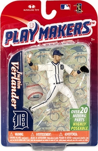 McFarlane Toys MLB Playmakers Series 4 Action Figure Justin Verlander (Detroit Tigers)