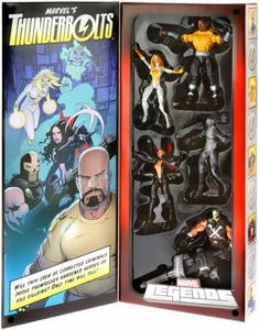 Marvel Legends 2013 SDCC San Diego Comic Con Exclusive Action Figure 5-Pack Thunderbolts [Judith Chambers, Ghost, Crossbones, Luke Cage & Moonstone]