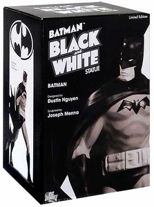 DC Direct Batman Black & White Mini Statue Batman [Designed by Dustin Nguyen]