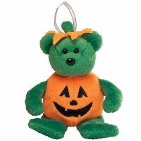 Ty Beanie Baby Ornament Halloween Tricky the Bear