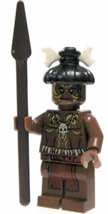 LEGO Pirates of the Caribbean LOOSE Mini Figure Cannibal with Spear