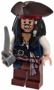 LEGO Pirates of the Caribbean LOOSE Mini Figure Captain Jack Sparrow [Tricorn Hat & Cutlass]