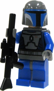 LEGO Star Wars LOOSE Mini Figure Mandalorian Warrior with Blaster Rifle