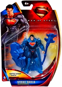 Man of Steel Movie Basic Action Figure Strike Shield Superman