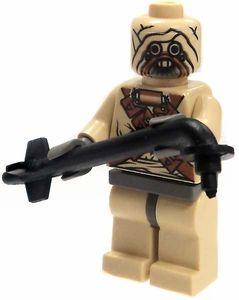 LEGO Star Wars LOOSE Mini Figure Tusken Raider with Gaffi Stick