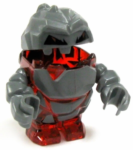 LEGO Power Miners LOOSE Complete Mini Figure Rock Monster Meltrox [Red]