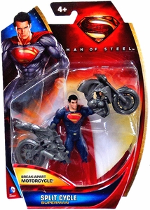 Man of Steel Movie Basic Action Figure Split Cycle Superman