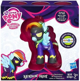Hasbro My Little Pony Exclusive Figure Rainbow Dash as Shadowbolt BLOWOUT SALE!