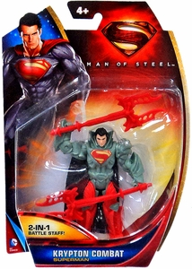 Man of Steel Movie Basic Action Figure Krypton Combat Superman