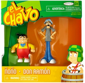 El Chavo 2.75 Inch Figure 2-Pack Nono & Don Ramon