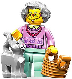 LEGO Minifigure Collection Series 11 LOOSE Mini Figure Grandma