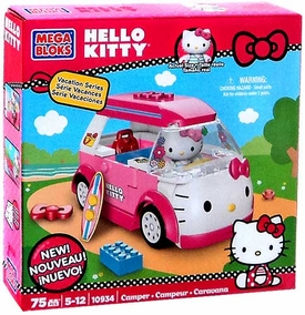 Hello Kitty Mega Bloks Set #10934 Camper