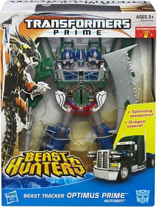Transformers Prime Beast Hunters Action Figure Weaponizer Optimus Prime Pre-Order ships April