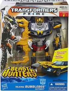Transformers Prime Beast Hunters Action Figure Weaponizer Bumblebee Pre-Order ships March