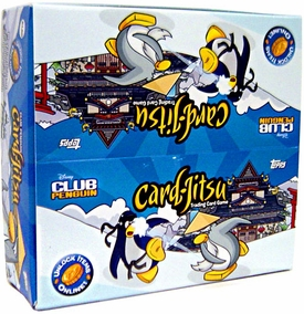 Topps Club Penguin Card-Jitsu Trading Card Game Series 2 Booster BOX [24 Packs]