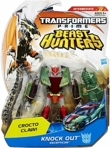 Transformers Prime Beast Hunters Deluxe Action Figure Knock Out [Crocto Claw!]
