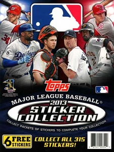 Topps MLB Baseball 2013 Sticker Collection Album