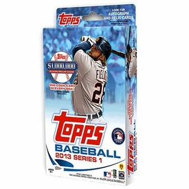 Topps MLB Baseball 2013 Series 1 Hanger Box [72 Cards]