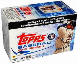 Topps MLB Baseball 2013 Series 1 Blaster Box [10 Packs of 8 Cards]