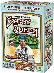 Topps MLB Baseball 2013 Gypsy Queen Blaster Box [8 Packs of 6 Cards]